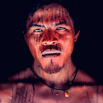 Paulo Paulino Guajajara, a leader of the Guajajara Indigenous group was ambushed and killed by illegal loggers who invaded his land in Brazil. © Midia Ninja