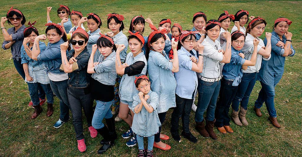 Break Free Activity in Taiwan. © Ai-Ju Wang / Greenpeace
