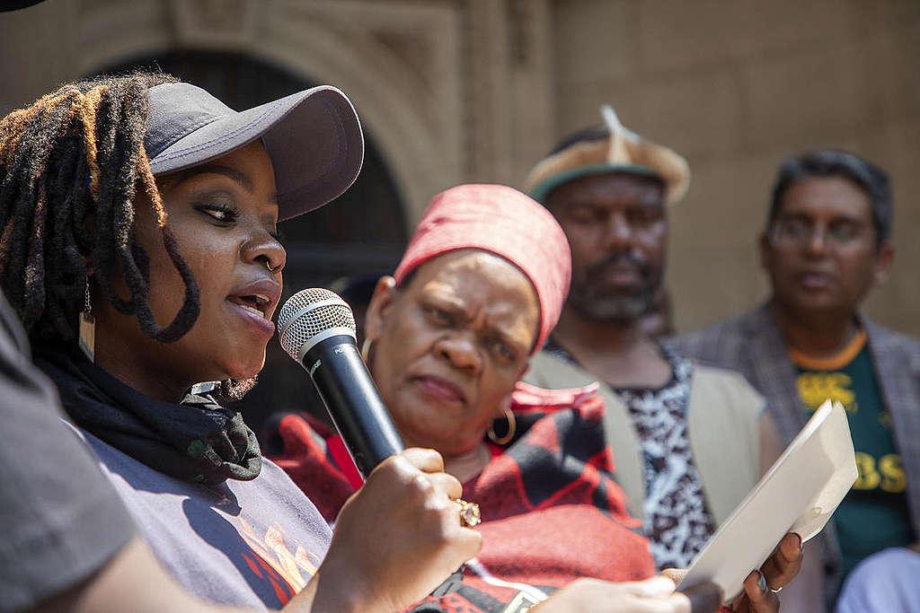 Global Climate Strike in Johannesburg, South Africa. © Shayne Robinson / Greenpeace