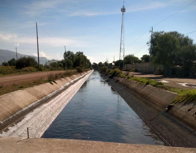 Requena canal in Mixquiahuala, Hidalgo, Mexico. © Brianda Guadalupe Cruz Rodríguez