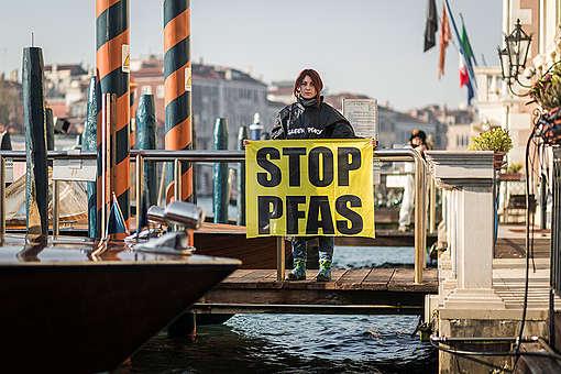 No PFC Action in Venice. © Francesco Alesi