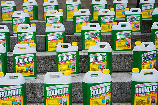 Action against Glyphosate at Danish Parliament in Copenhagen. © Brian Berg