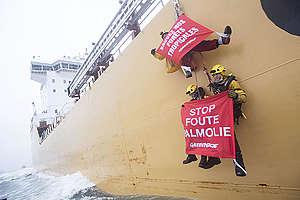 Dirty Palm Oil Protest In The Netherlands. © Marten  van Dijl