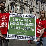 In azione per difendere i diritti dei popoli indigeni!