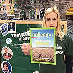 Volontarie e volontari oggi in piazza, «Il governo conte cambi il PNIEC o sarà ricordato come il governo del cambiamento climatico»
