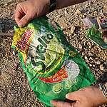 Discarica abusiva di rifiuti in plastica (italiani) in Turchia