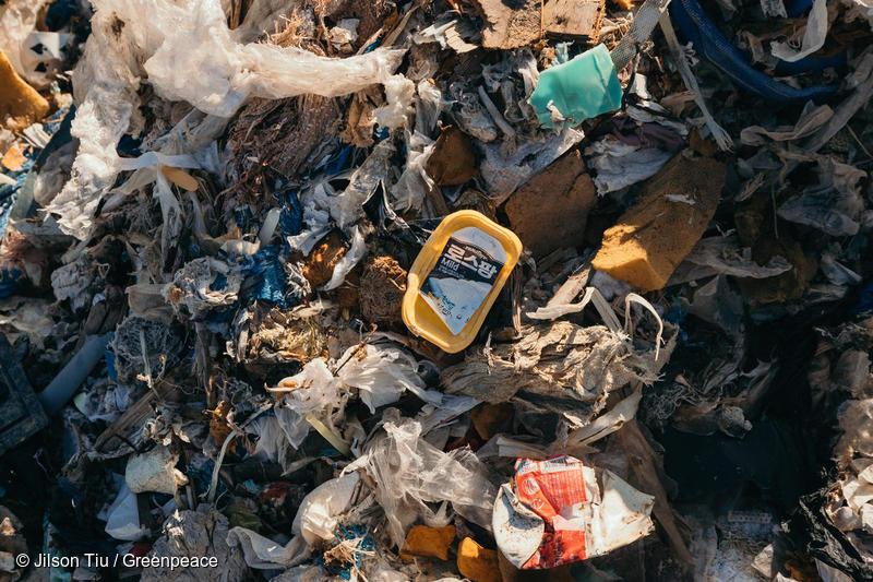 한국발 플라스틱 쓰레기는 대부분이 플라스틱 용기, 포장재 등 일회용 플라스틱 쓰레기이다