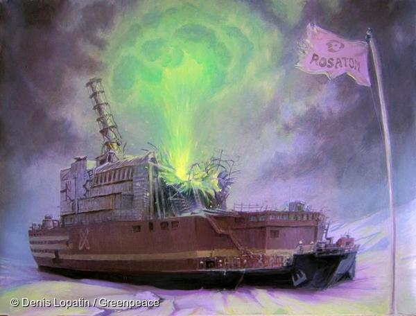 세계 최초의 해상 부유식 원자력발전소는 떠다니는 체르노빌과 별반 다를 게 없습니다
