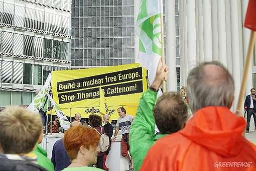 Militants Greenpeace