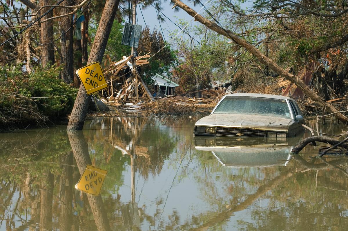 Aftermath of Hurricane Katrina