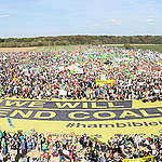 Demonstration for Climate Protection and Hambach Forest. © Bernd Arnold