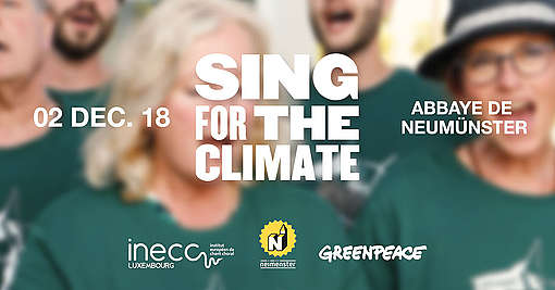 Affiche Sing for the Climate