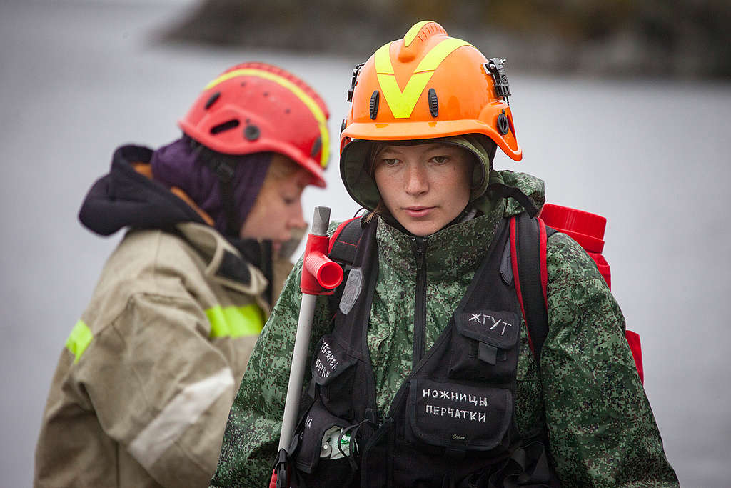 Firefighting and Training Camp on Ladoga Skerries. © Maria Vasilieva