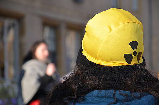 Intrusion in Cattenom Nuclear Power Plant: Greenpeace France in Court. © Pauline Maes