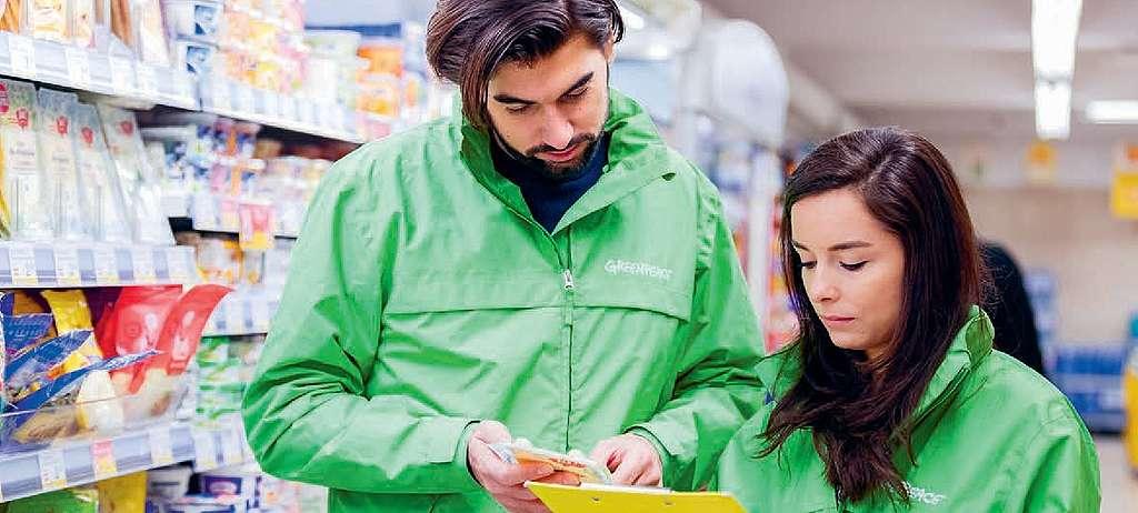 Zeichen-tricks Analyse im Supermarkt