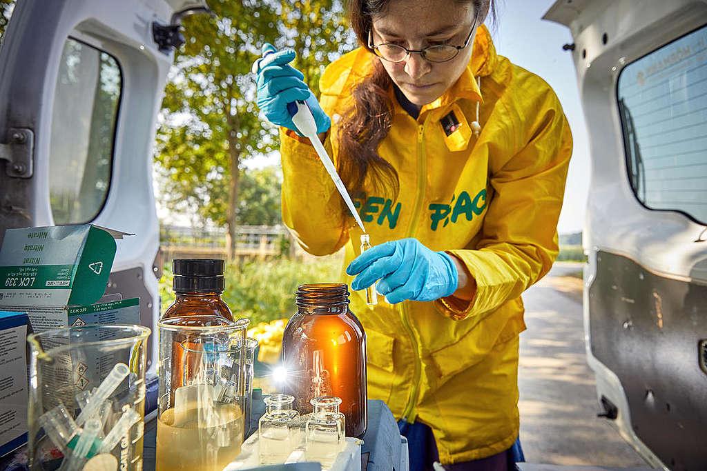 Water Testing in Austria. © Mitja Kobal