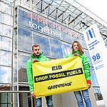 Action devant la Banque européenne d'investissement à Luxembourg