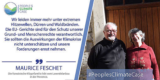Maurice Feschet - People's Climate Case