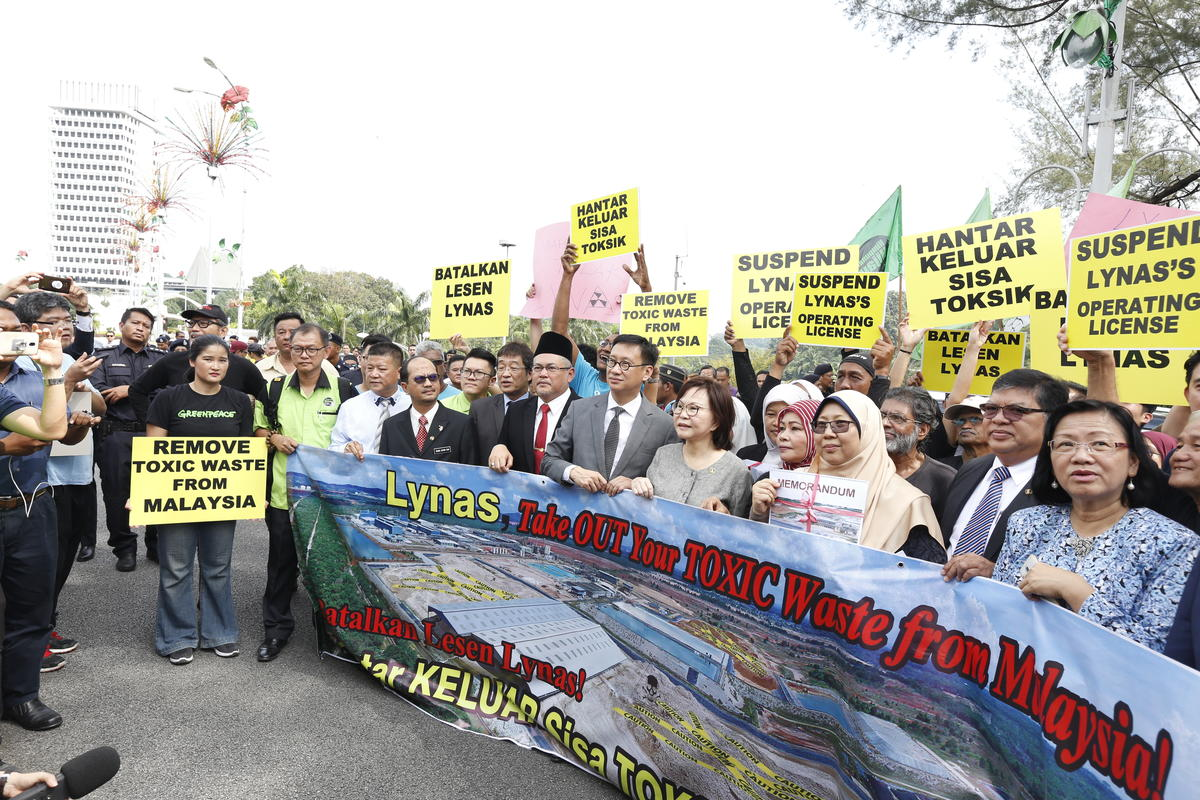 Looking back at our first campaign in Malaysia: Stopping Lynas