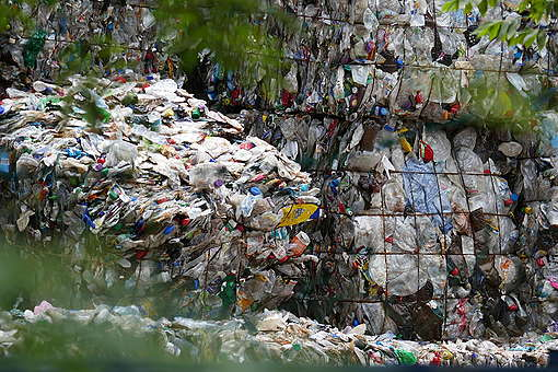 Plastic Waste in the Port Klang Area, Malaysia. © Greenpeace