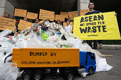 Why waste trade should be on the ASEAN summit agenda - Greenpeace