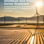 Assessing the progress of national energy transitions against a 1.5 degrees pathway in Southeast Asia.