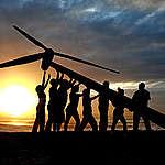 غرينبيس ترحب بمزرعة الرياح في جبل الزيت كمعلم بارز للطاقة في العالم!