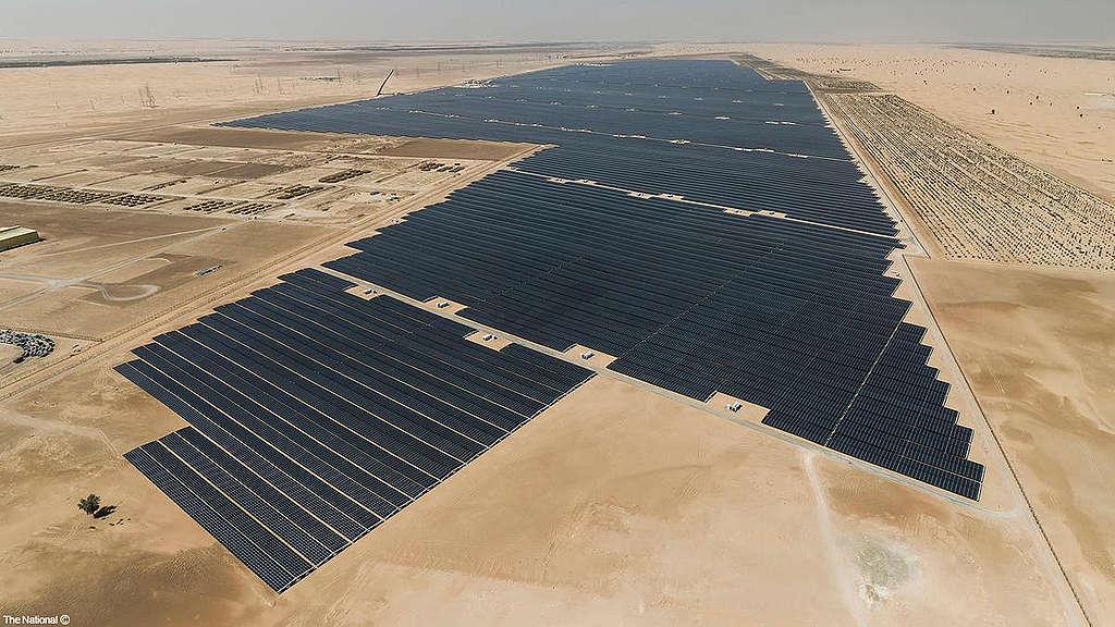 نور أبو ظبي أكبر محطة طاقة شمسية مستقلة في العالم
