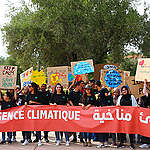 For the first time in history Youth from Morocco, Lebanon, Tunisia, Iraq and other countries in the MENA region marched the streets and demanded climate actions!