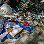 Beach Clean Up Activity in Bali. © Made Nagi