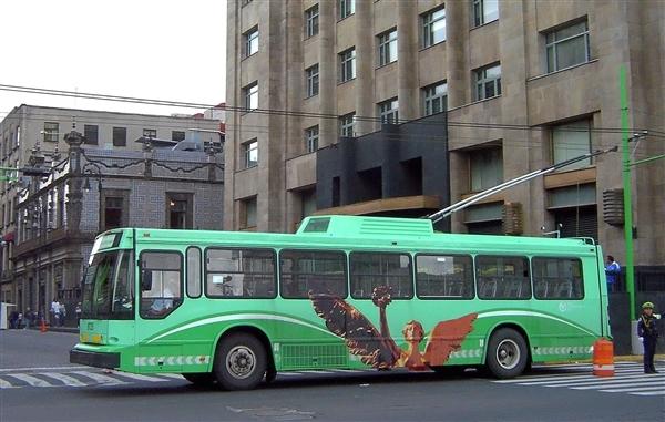 Trolebus en Ciudad de México