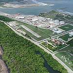 Desmonte de vegetación en el municipio Paraíso, estado de Tabasco para el proyecto de construcción de la refinería Dos Bocas. Fotografía: CEMDA