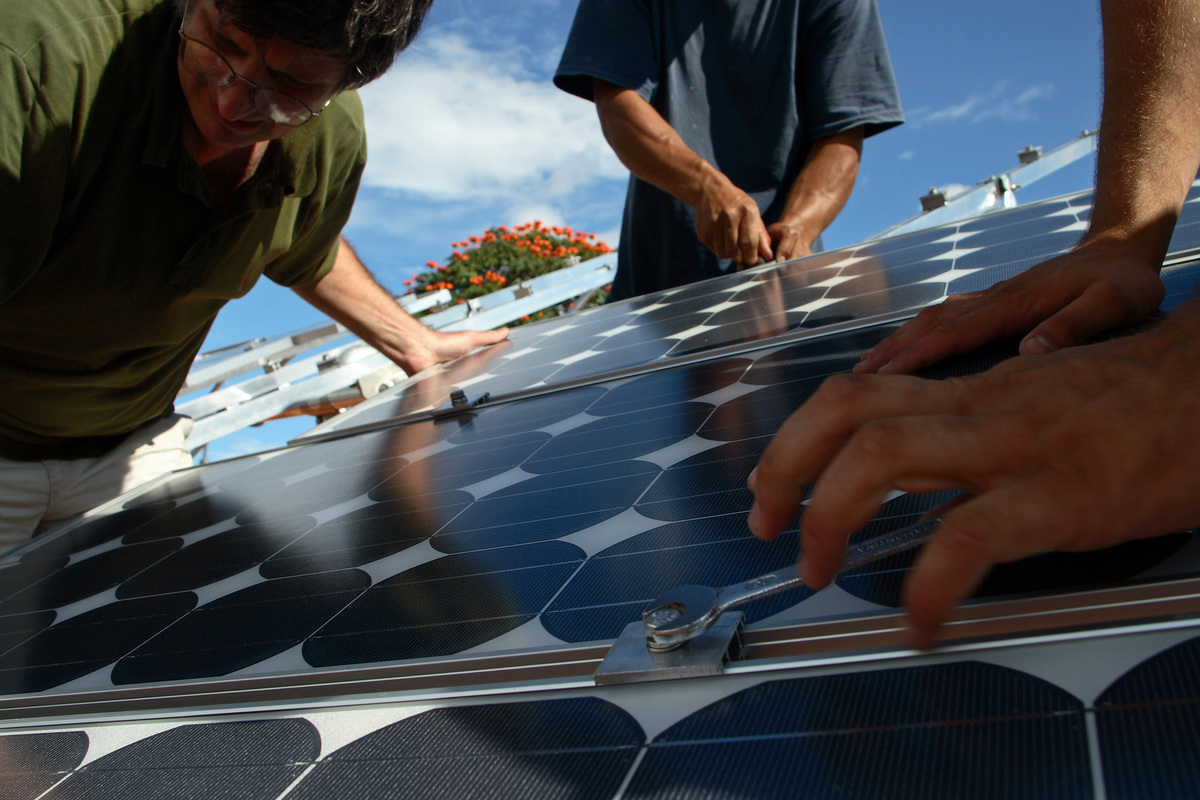 El poder de la energía solar. © Rodrigo Baléia