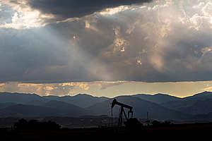 Oil Jackpump in Colorado. © Les Stone
