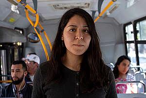 Mujeres en transporte. ¡Exijamos espacios seguros!