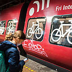 Train with Bicycle Compartment. © Chris Grodotzki / Greenpeace