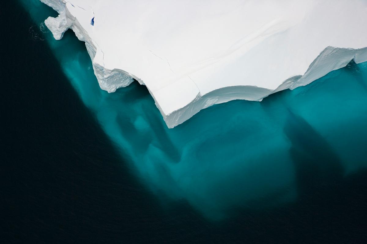 Iceberg Mar de Ross © Greenpeace / Daniel Beltrá