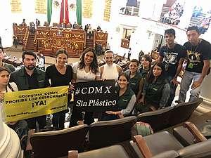 Alianza México Sin Plásticos en el Senado