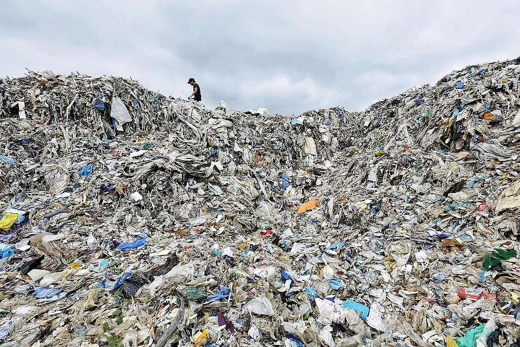 El consumismo y la contaminación