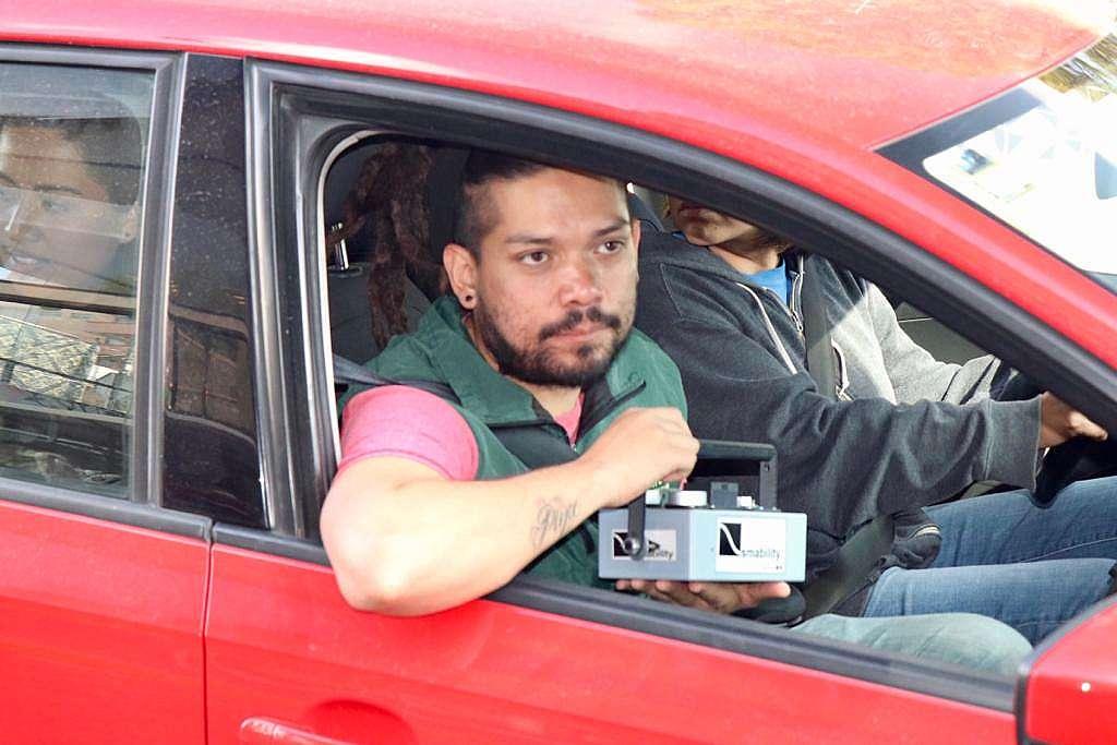 Monitoreo de caidad del aire en Puebla / Automóvil