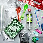 Product Shot of Plastic Items. © Fred Dott / Greenpeace
