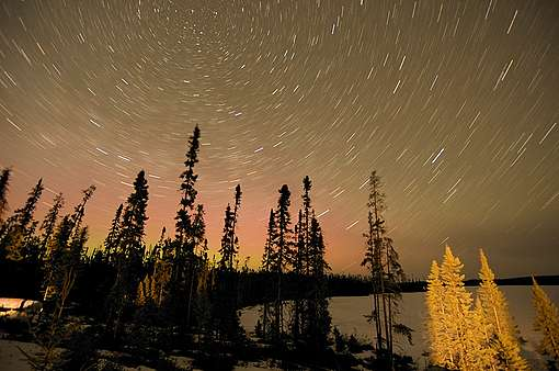 Timelapse over Broadback Valley Forest in Canada. © Oliver Salge / Greenpeace