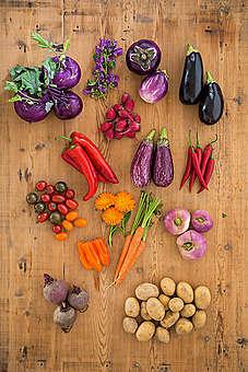 Seasonal and Regional Vegetables. © Fred Dott / Greenpeace