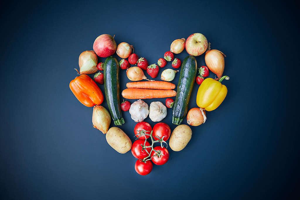 Seasonal Fruits and Veggies in Austria. © Mitja  Kobal / Greenpeace