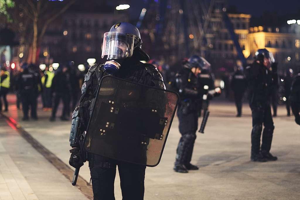 Policias y COVID-19.