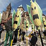 Action against Genetic Engineering in Germany. © Greenpeace / Martin Storz