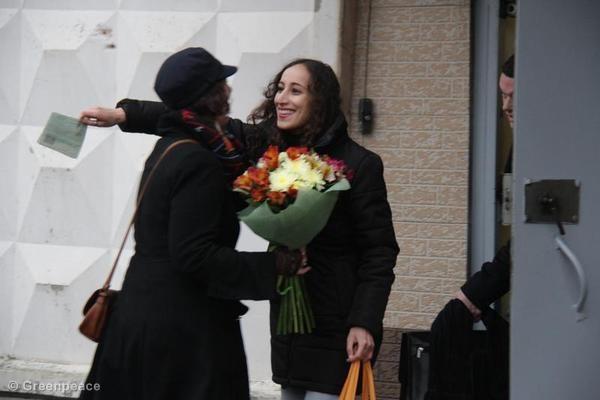 Faiza na 65 dagen uit de gevangenis