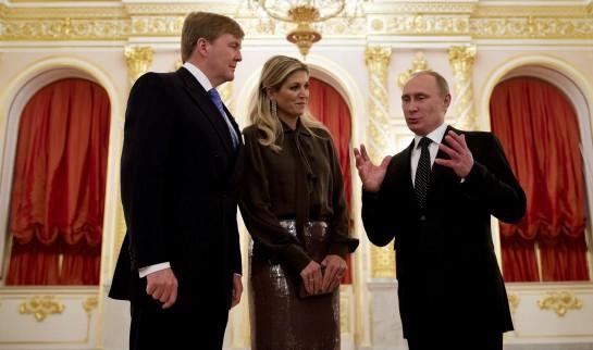 koningspaar in Rusland