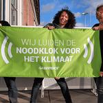 LIVEBLOG: Honderden klokken luiden de 'Noodklok voor het Klimaat'