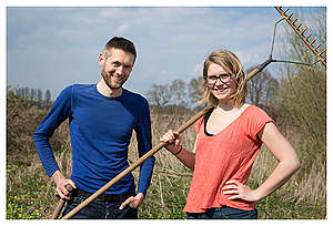 Ecological Farmers in the Netherlands. © Bas Beentjes
